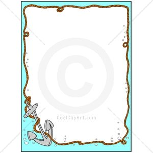 com clip art for borders nautical anchor image id106066 clipart free clipart