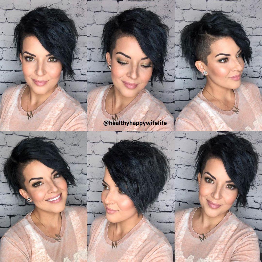 Schwarze kurze Haare - Frisuren Stil Haar - kurze und lange