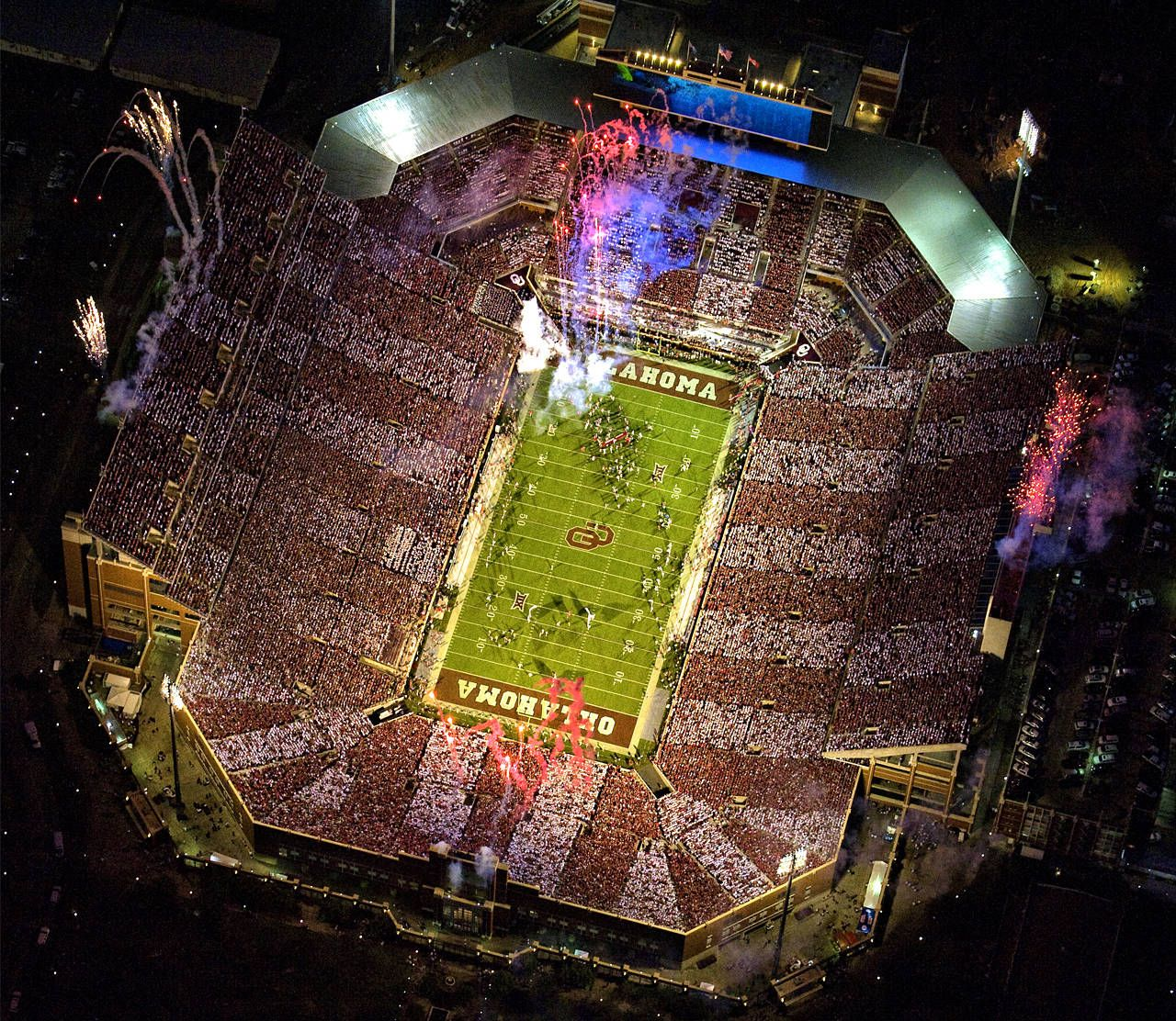 Owen Field The Palace On The Prairie New South End Zone Expansion Oklahoma Sooners 2016 Oklahoma Memorial Sooners Oklahoma Sooners
