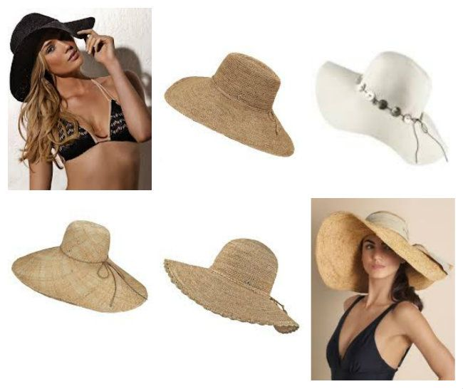 Fashionable Wide Brim Beach Hats & Beachwear at The Orchid ...