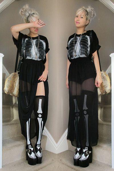 Black-creepers-jeffrey-campbell-boots-light-brown-diy-fur-diy-bag | Creepers | Pinterest | Suits ...