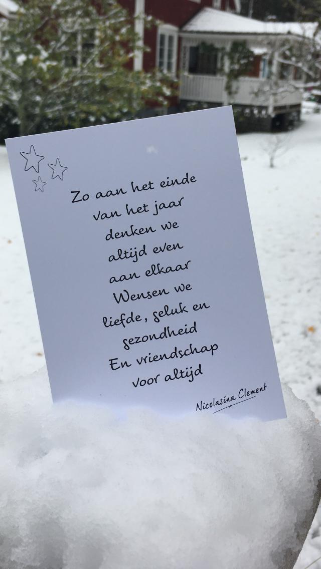 Onze beste wensen voor 2019 Jean en Rieja #kerstpronkstukken