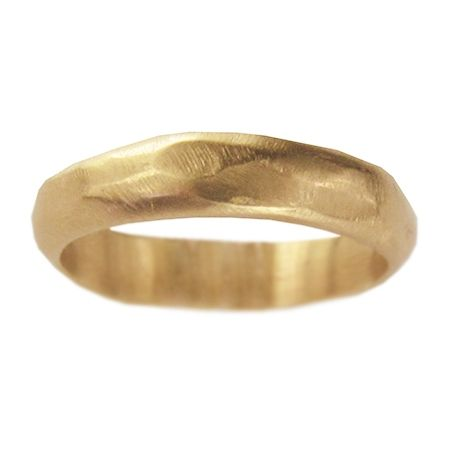 Organic Gold Wedding Ring Jewelry Pinterest Gold weddings