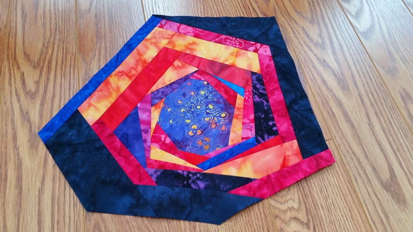 Crafty Sewing & Quilting: A Large Hot Pad Made from the Leftover Scraps