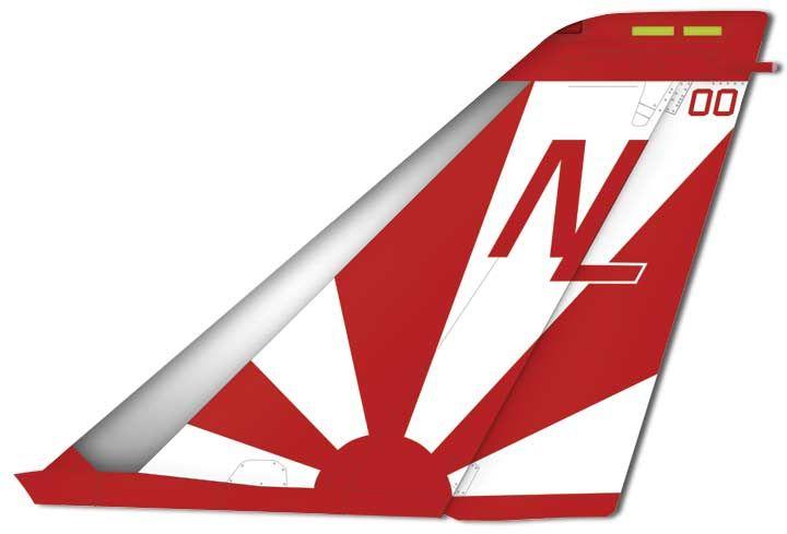 Vf 111 Sundowners Tail Markings Us Navy Aircraft F14 Tomcat Aviation Geek