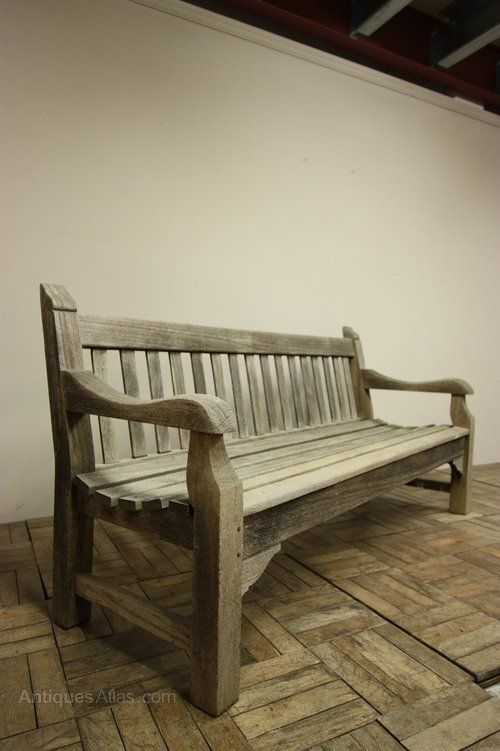 Antiques Atlas English Antique Teak Garden Bench Garden Seating