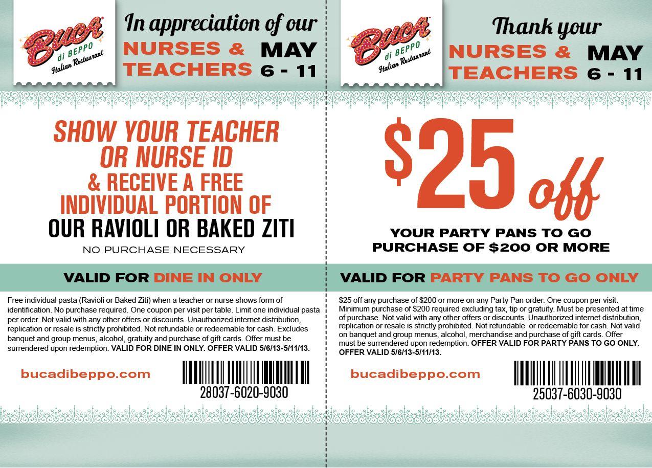 Saving 4 A Sunny Day Free Dinner For Teachers And Nurses