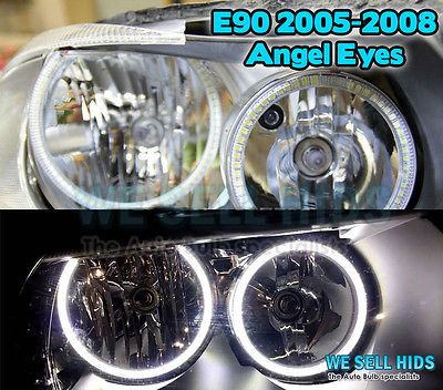 4 x bmw e90 pre lci #2005-2008 aftermarket smd angel eyes halo #rings #white ,  View more on the LINK: http://www.zeppy.io/product/gb/2/282121301730/