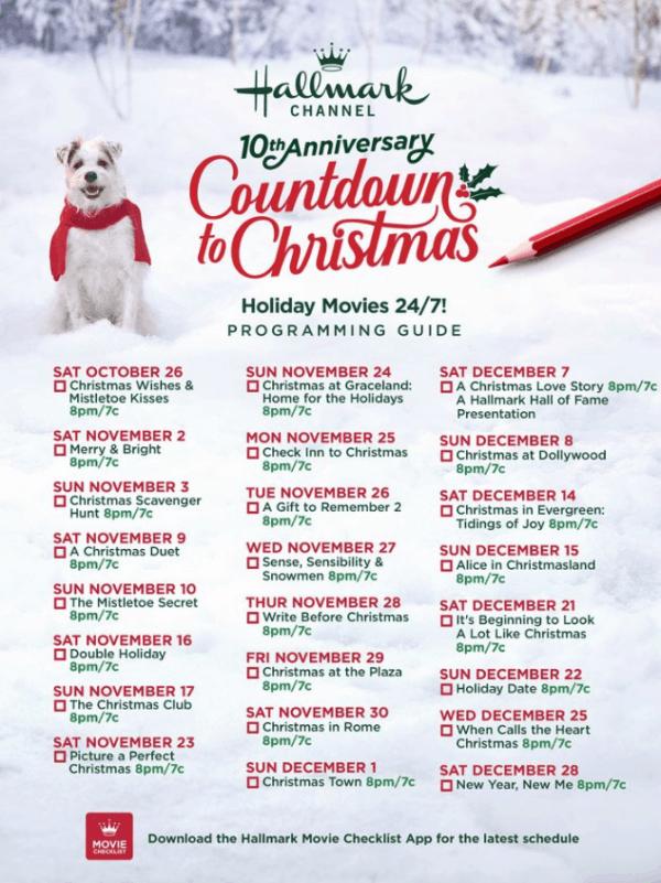 Hallmark Movies Schedule For 2020 Christmas Movies Coming Soon Hallmark Christmas Movies Christmas Movies Hallmark Christmas Movies List