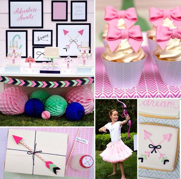 Arrow Theme Birthday Party