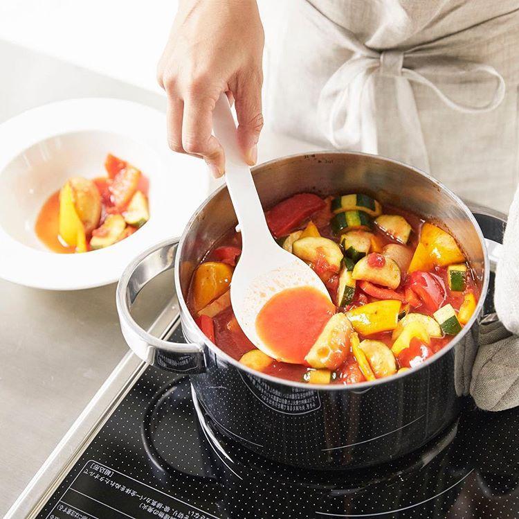 これ1つで混ぜる 計る 調理 すくう 盛り付けるができちゃう便利な