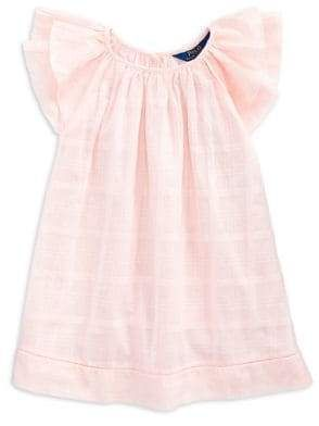 285b7b18 Ralph Lauren Childrenswear Little Girl's Flutter-Sleeve ...