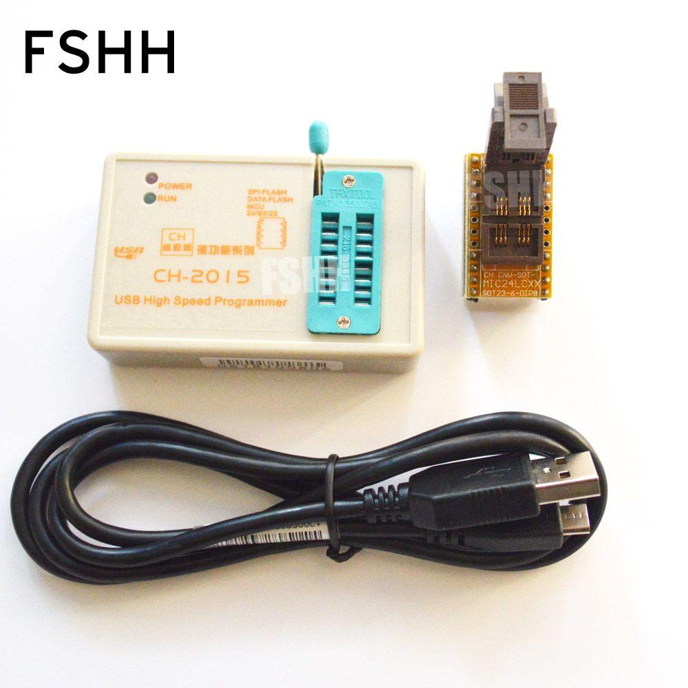 Copy Usb Programmer Ch2015 Spi Flash High Speed 24c Diy Sot 23 Adapter 24lcxx Sot23