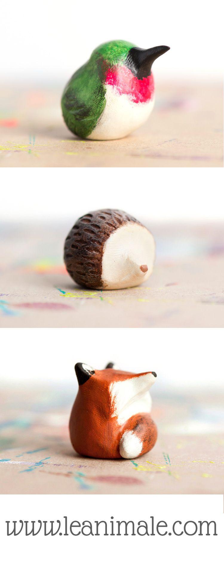easy clay animals to make - photo #32
