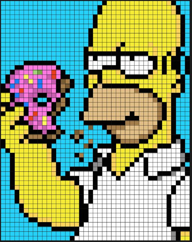 Pin By Corrie On Crochet Pixel Art Grid Anime Pixel Art Pixel