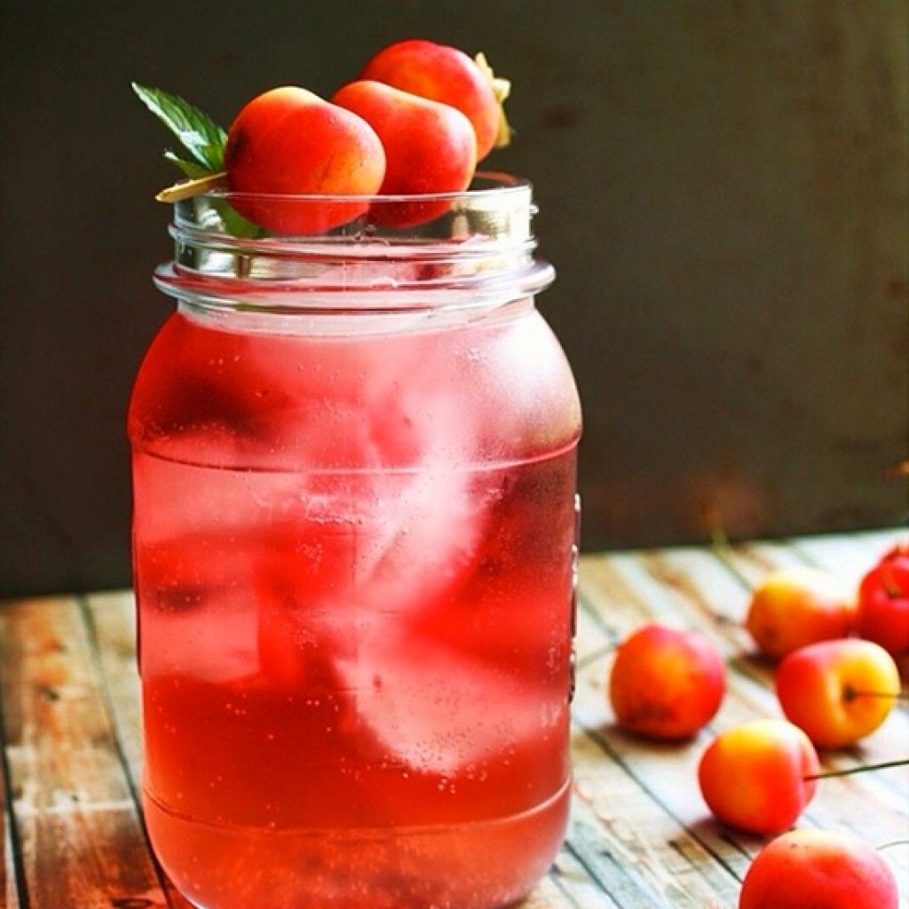 Here S How To Drink Away The Summer In Peace Cherry Drink Summer Punch Yummy Drinks