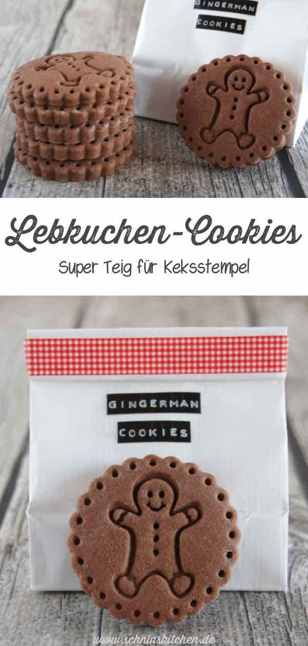 Gingerbread cookies from a super dough for biscuit stamp