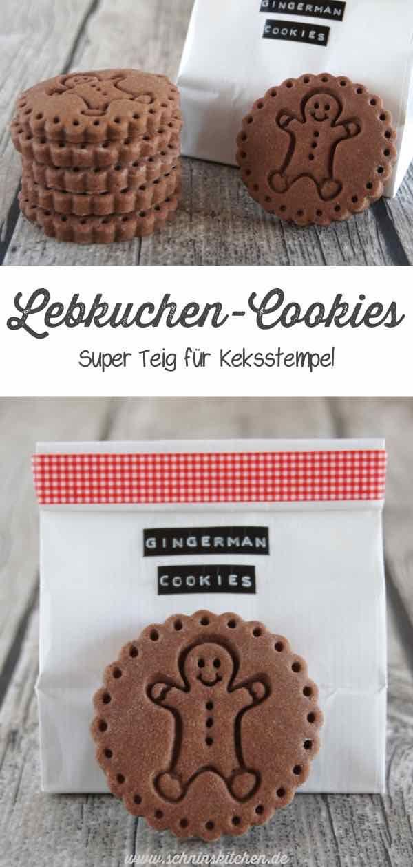 LebkuchenCookies aus einem super Teig für Keksstempel Süße LebkuchenCookies Mr Gingerman  ein toller Teig für Keksstempel und allgemein ein super Rez...