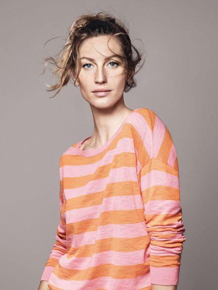 Campanha Esprit, S/S 2012, com Gisele Bündchen