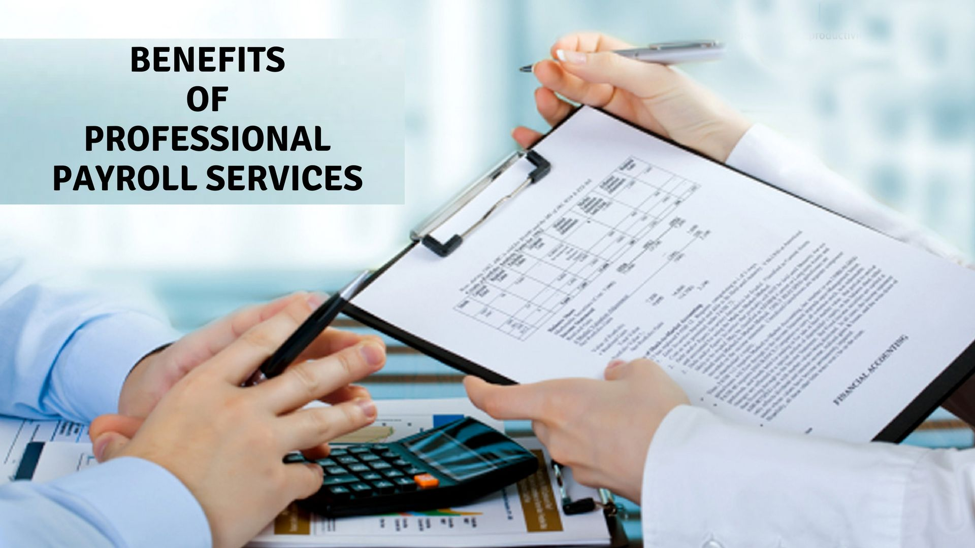A Reputed Firm Offering Professionalpayroll Services Dependably