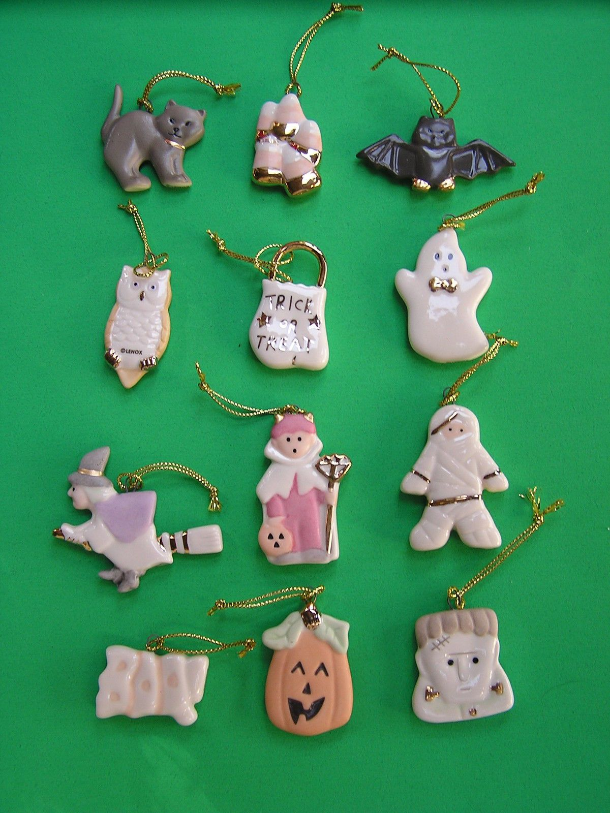 Details about LENOX HALLOWEEN TRICK or TREAT 12 miniature