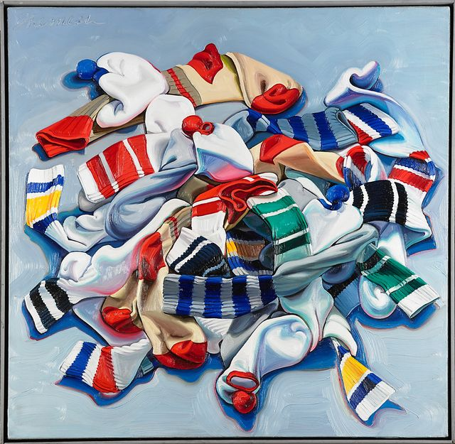 Lorraine Shemesh Art: Unsorted Socks By Lorraine Shemesh