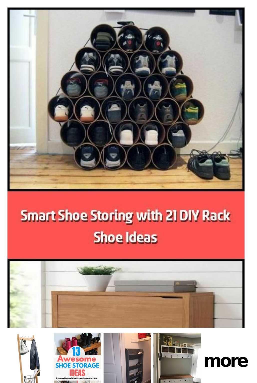 100 Shoes Rack Design Ideas In 2020 Pallet Shoe Rack Rack Design Shoe Rack