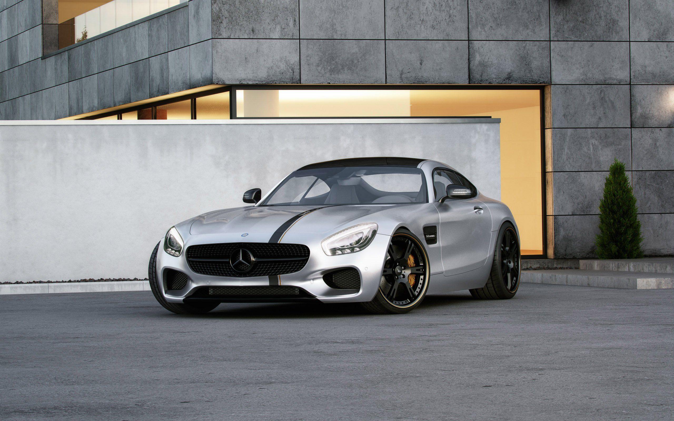 2015 Wheelsandmore - Mercedes AM GT - Dark-Cars Wallpapers