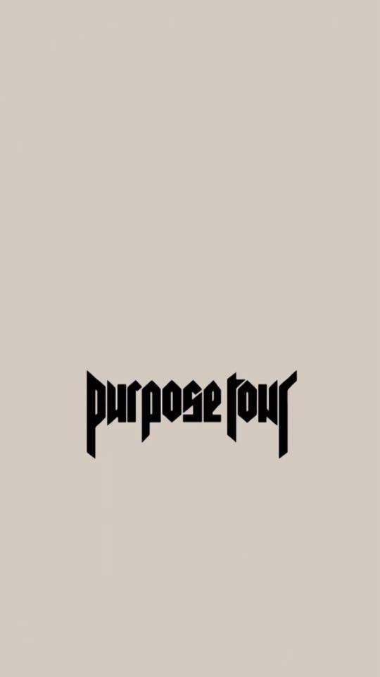 Purpose Tour Lock Screen Iphone Wallpaper Justin Bieber For
