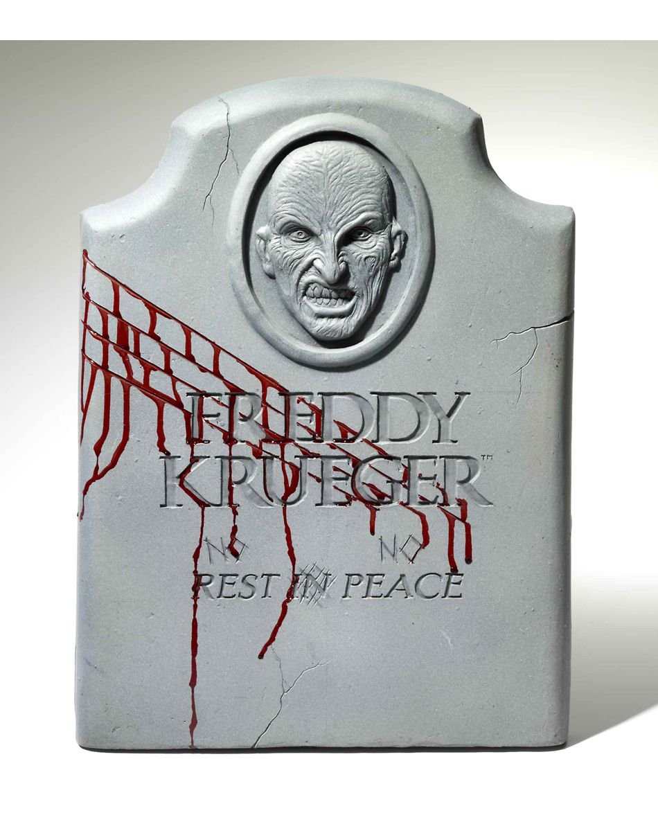 nightmare on elm street freddy krueger tombstone