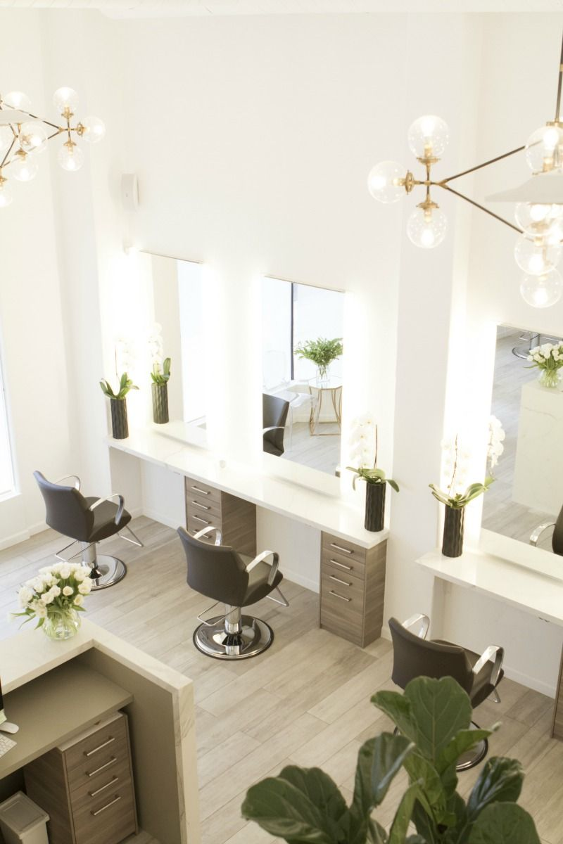 Salon Kazumi Beverly Hills Beverly Hills Magazine Luxe Hair Salon Salon Suites Decor Hair Salon