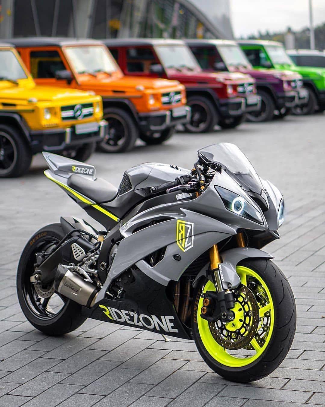 Bike Yamaha YZF R6 in 2020 Super bikes, Stunt bike
