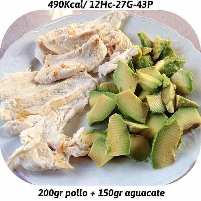 Merienda fácil y nutritiva  por cierto me encanta el aguacate  jajaja