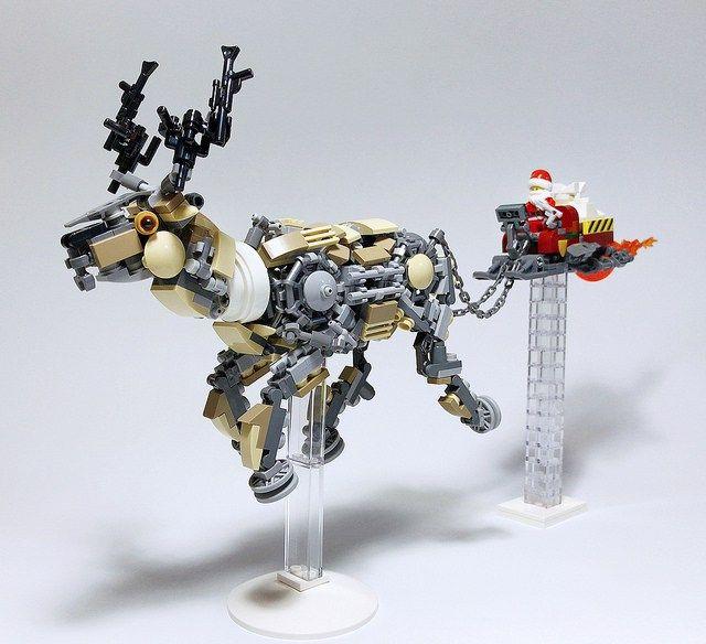 Pere Noel Lego Upgrader les équipements du Père Noël   HelloBricks | Idées lego