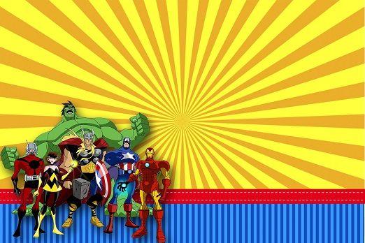 Avengers Imágenes Etiquetas E Invitaciones Imágenes Para