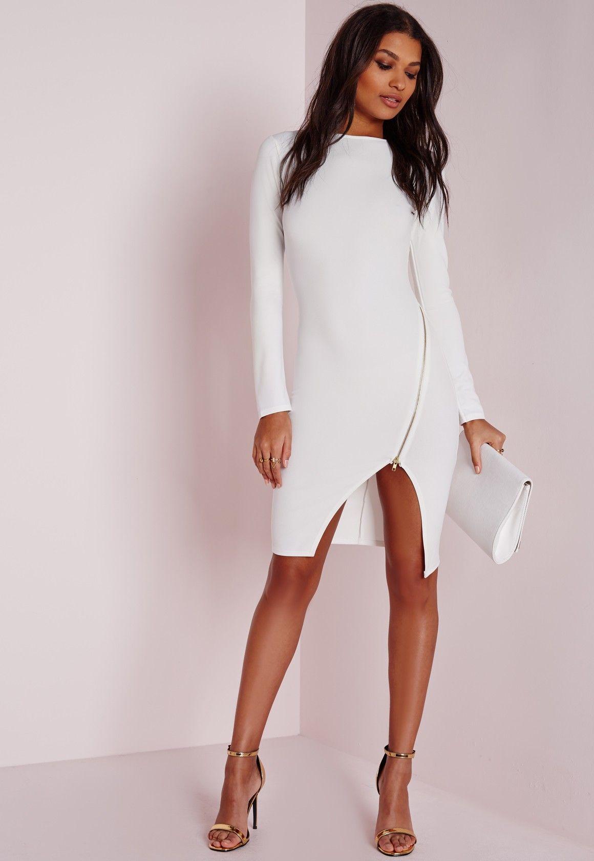 Dresses Online  Women's Online Dress Shop US  Missguided White
