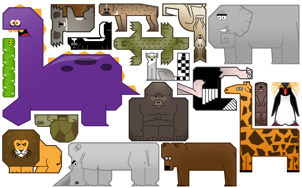 Pin by Peter Simon on Demon Apathy Animal puzzle