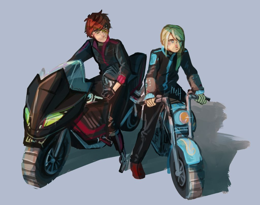 Hiccup and astrid dragon motorcycle | How To Train Your
