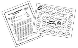 Fun game for practicing division by single digit divisors