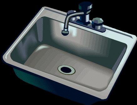 kitchen-sink-clipart-stainless-sink