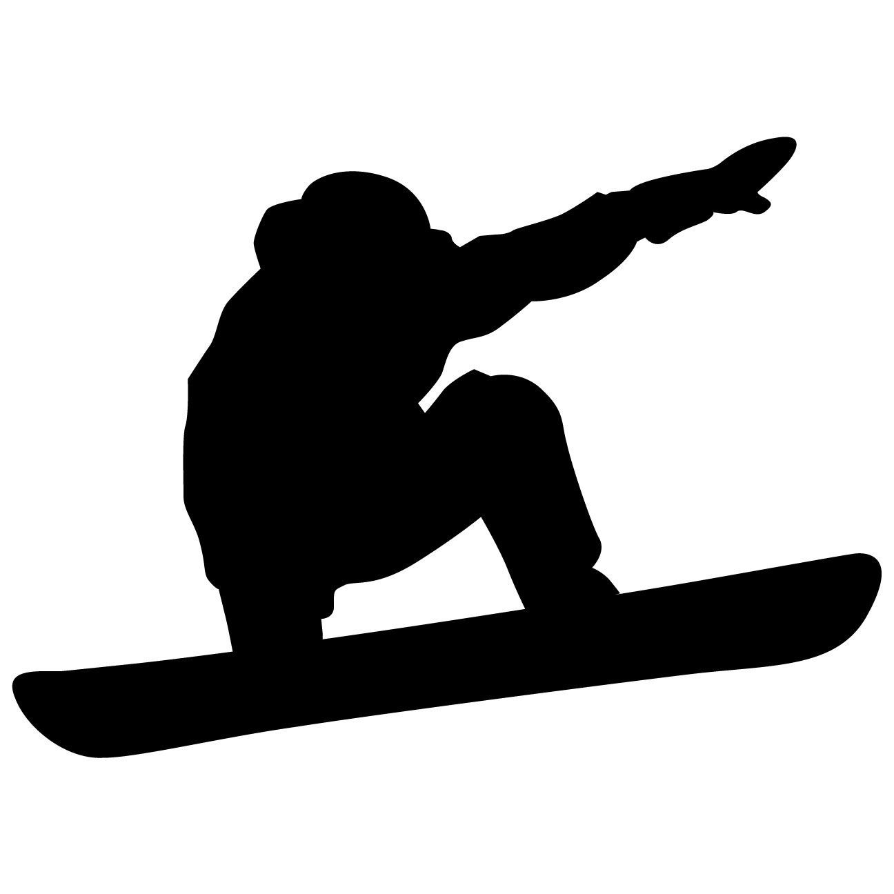 snowboarding wall decal sticker 2 snowboard easy home decor diy home decor affordable home. Black Bedroom Furniture Sets. Home Design Ideas