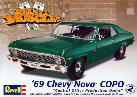 1969 Chevy Nova Copo Model Kit Cars Kits Car