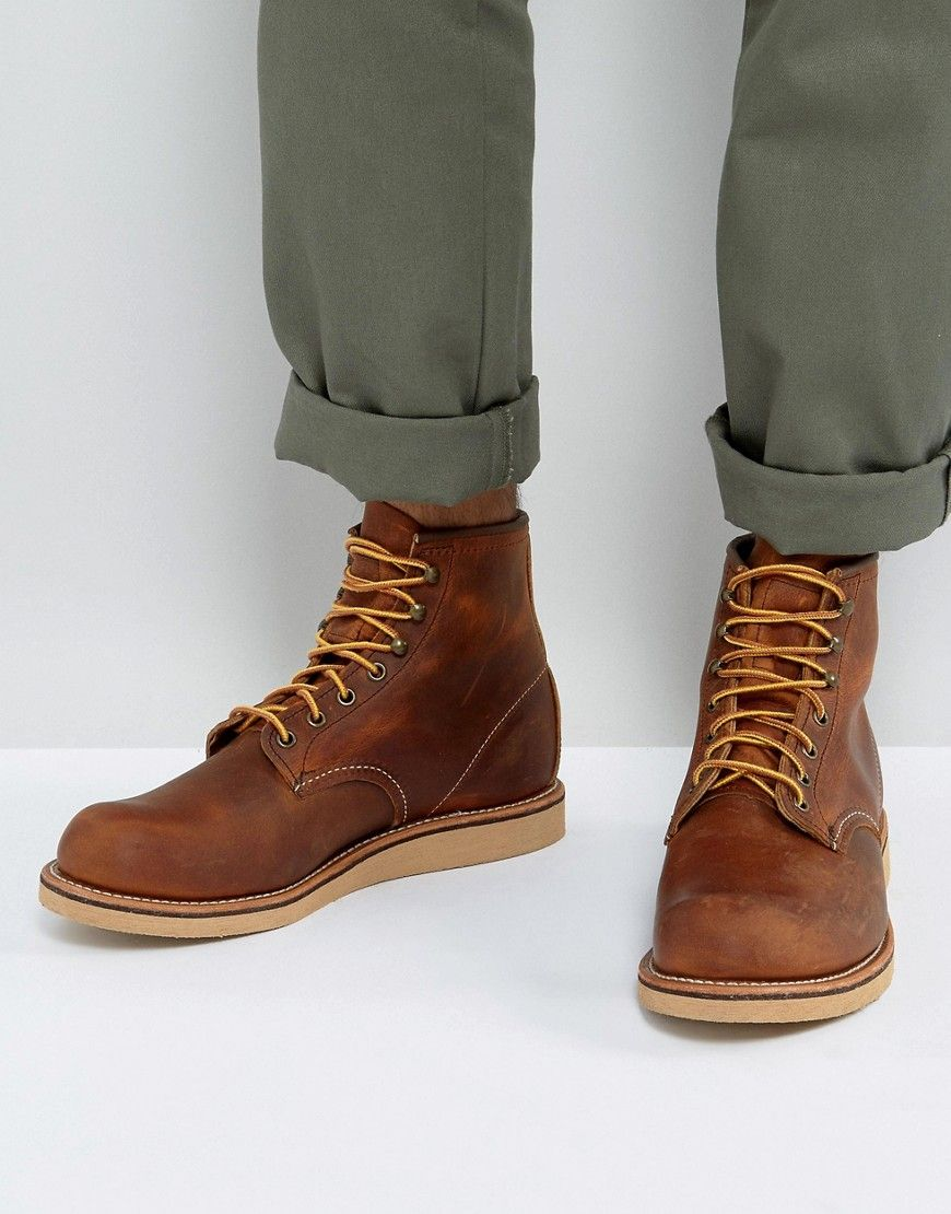 Red Wing Rover Leather Lace Up Boots