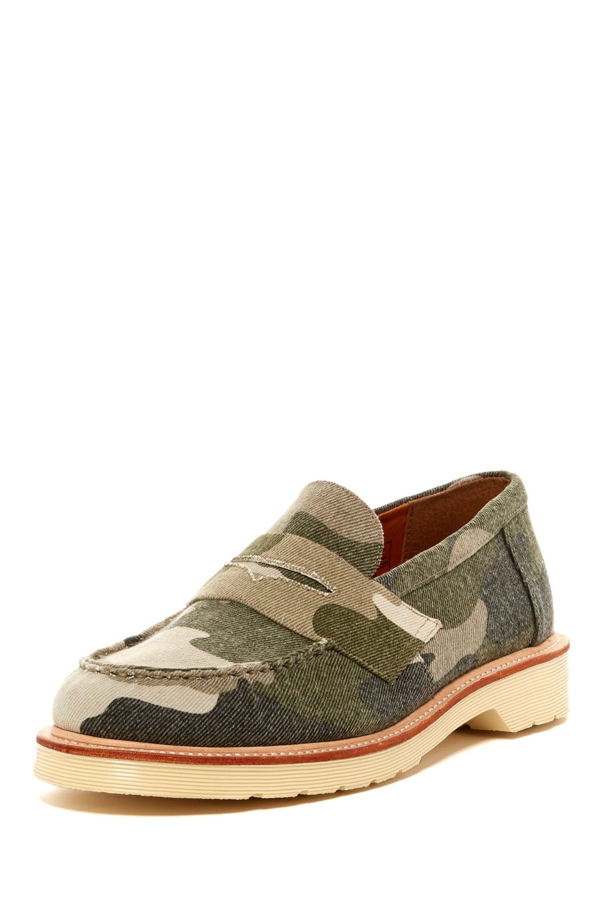 Dr. Martens Ablett Camo Penny Loafer on HauteLook (With ...