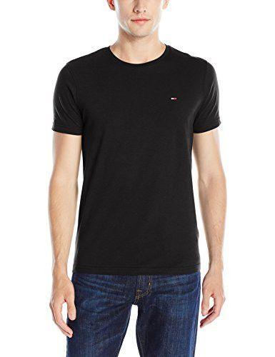fca4216d Tommy Hilfiger Denim Men's Original Crew Neck Short Sleeve T-Shirt ...