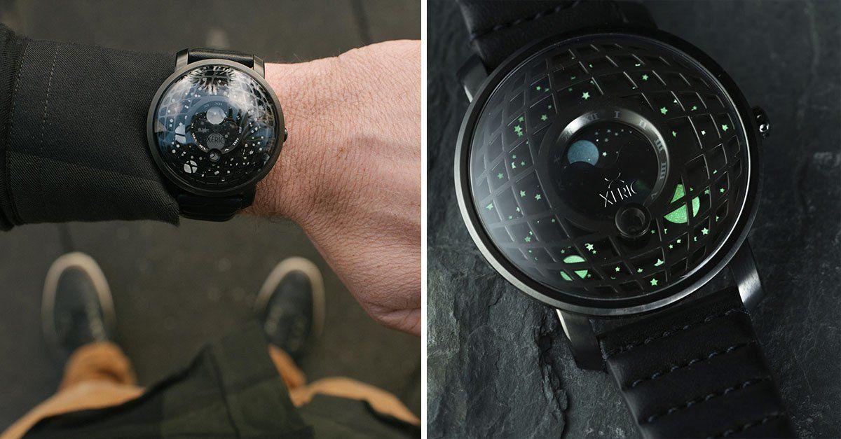 La NASA lanza este reloj edición especial para conmemorar los 50 años de haber pisado la Luna