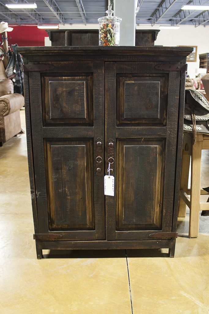 Rough Hewn Puebla Armoire. Interest in this piece? Contact us for more info: 405-947-7719