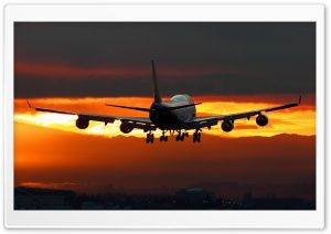 Airplane Flying HD Wide Wallpaper for Widescreen
