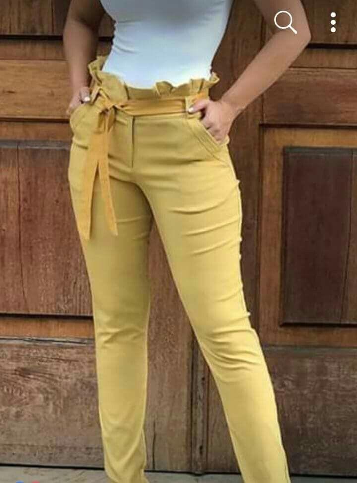 Pantalones Clochard Pantalones De Moda Mujer Pantalones De Moda Pantalones De Vestir Mujer
