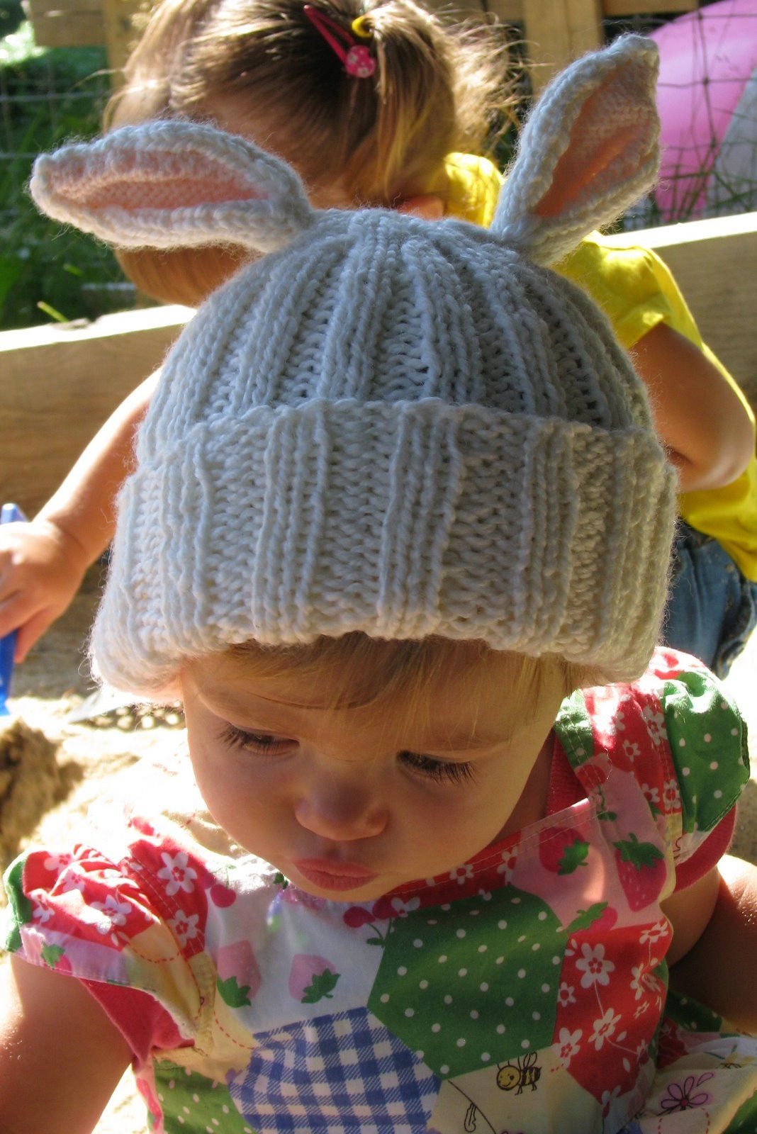 Bunny Rabbit Knitting Patterns | knitting | Pinterest | Ear hats ...